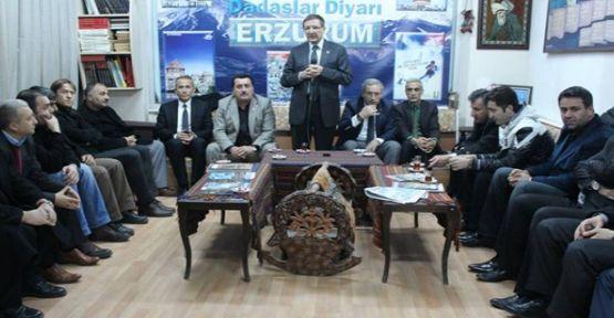 Milletvekili Şeker Erzulumluları Ziyaret Etti