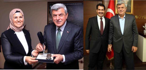 Milletvekilleri Sezer ve Yaman'dan Başkan Karaosmanoğlu'na ziyaret