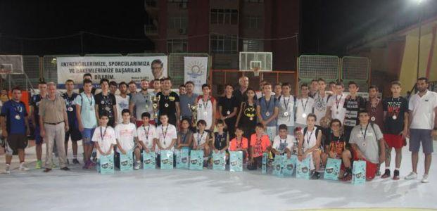 Nurullah Serpen Sokak Basketbolu  Turnuvası Sonuçlandı