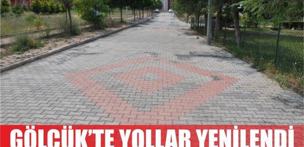 Örcün Mahallesi yolları yenilendi