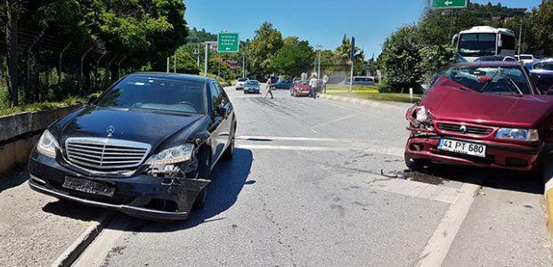 Otoyolda kaza : 4 yaralı