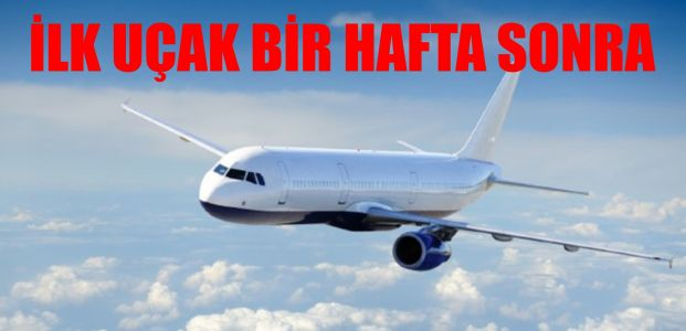 Rusya'dan Türkiye'ye ilk uçuş...