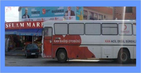 Saadet  Başiskele'den kan bağış kampanyası