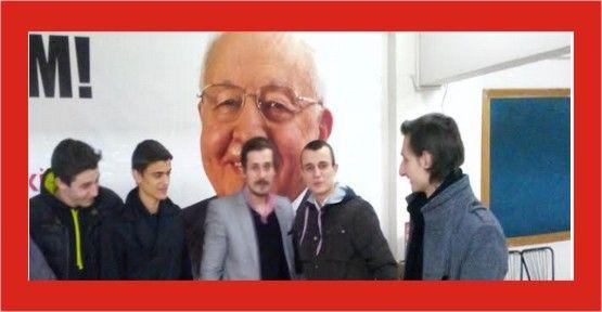 Saadet Partisi İzmit İlçe gençlik kolları askerlerini yolladı