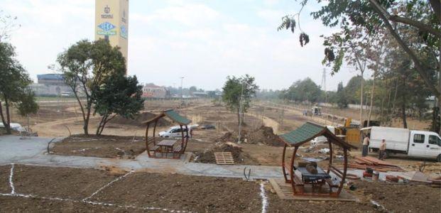 Seka Kültür Parkı'nda çalışmalar devam ediyor