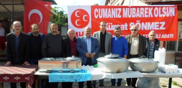 Şirinköy halkından Kürşat Sönmez'e büyük destek