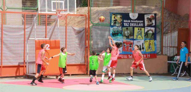 Sokak Basketbol Turnuvası start aldı