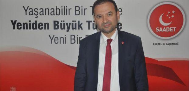 """SP'li  Çelik, """"Ankara'ya HDP değil, Saadet gitsin"""""""