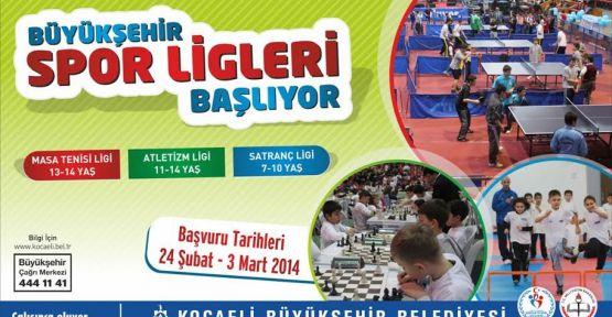 Spor Ligi'ne son başvuru tarihi 3 Mart