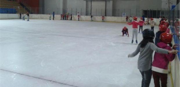 """Spor Okulları'nda """"buz"""" devri başladı"""
