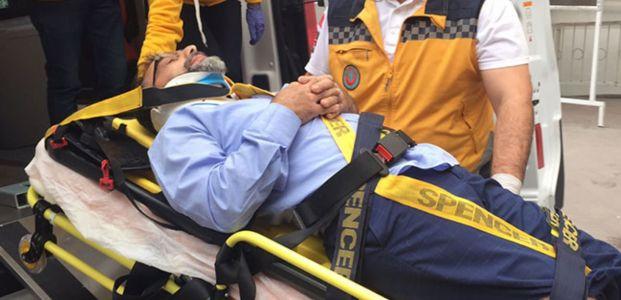 Suadiye'de kaza : 1 yaralı