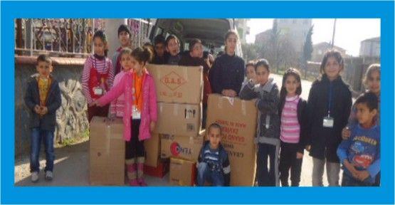 Suriye yardım kolileri yola çıktı