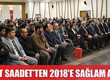 SAADET İZMİT'TEN 2018 YILINA SAĞLAM ADIM!
