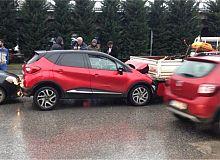 Yağmur geldi kazalar arttı!!!
