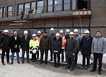 Bayram, Kongre Merkezi inşasını denetledi