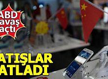 ABD'nin savaş açtığı Çinli Huawei'in satışları arttı