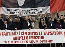 Körfez MHP,meclis üyesi adaylarını tanıttı