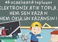 Okullar bu kez elektronik atık toplamak için yarışacak