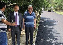 Çamlıtepe'de, asfaltsız sokak kalmadı