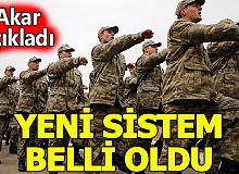 Yeni askerlik sistemi, Cumhurbaşkanına sunuldu