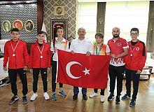 Körfez'e 1 altın 2 bronz madalya
