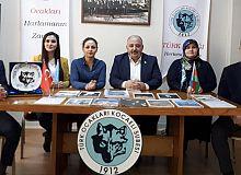 Doğu Türkistanda yaşatılan Çin zulmü hakkında basın açıklaması