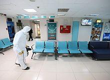 Sağlık Merkezleri Dezenfekte Ediliyor