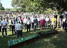 Körfez'de denizde boğulan iki kardeşin cenazeleri defnedildi