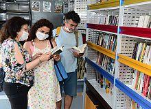 Kocaeli'nin Gezici Kütüphanesi var