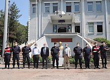 Başkan Söğüt'ten güvenlik güçlerine ziyaret