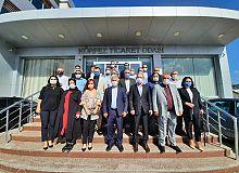 AK Parti İlçe Teşkilatından, KTO'ya ziyaret