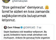 Başkan Hürriyet, Cem Yılmaz'ı İzmit'e davet etti