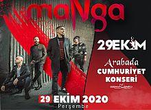 Hürriyet'ten Cumhuriyet Bayramı'nda Manga konseri sürprizi