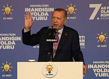 Cumhurbaşkanı Erdoğan: En büyük desteği Kocaeli'nden görüyoruz