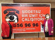İzmit Belediyesi ve Türkiye Kadın Dernekleri Federasyonu, 'Şiddetsiz Bir İzmit' için imzaları attı
