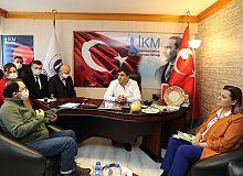 Başkan Hürriyet, İKM'yi İzmit Çarşısı projesi ile ilgili bilgilendirdi