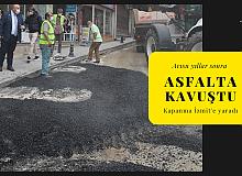 Acısu yıllar sonra asfalta kavuştu