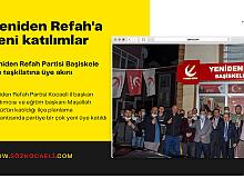 Yeniden Refah Başiskele'ye yeni üyeler