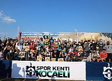 Süper Enduro GP, Kocaeli'de tamamlandı.  Yarışlar nefes kesti