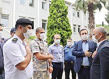 Başkan Söğüt'ten, güvenlik güçlerine ziyaret