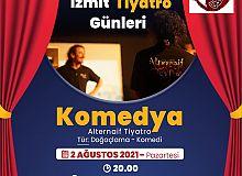"""İzmit Tiyatro Günleri,""""Komedya"""" ile devam edecek"""