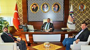 Baran, AK Parti Körfez İlçe Başkanı Badem'i Ağırladı