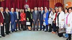 Başkan Baran 24 Kasım'ı Öğretmenlerle Geçirdi