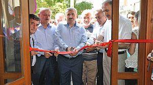 Başkan Baran, Cafe Açılışına Katıldı