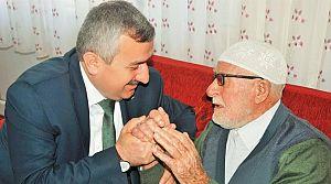 Başkan Baran, Dünya Yaşlılar Gününü Kutladı