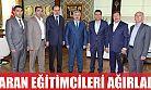 Başkan İsmail Baran eğitimcileri ağırladı