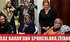 Bilge Baran'dan spor yapan kadınlara ziyaret