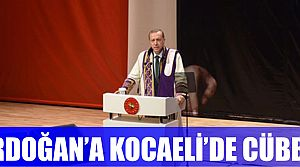 Erdoğan'a cübbe