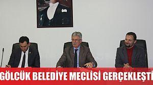 Gölcük belediye meclisi gerçekleşti