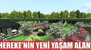 """Hereke'nin Yeni Yaşam Alanı """"Ahmed-i Hani Parkı"""""""